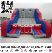 Inflatable Jacobs Ladder Climbing interactive challenge game(China)