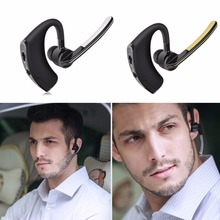 Wireless Bluetooth Headset Business Earphone Car Driver Voice Control Hands free Sport Smart Earphone for Xiaomi etc. phone