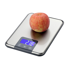 Buy Stainless Steel Electronic Scales Touch Button 15KG/1g Digital Kitchen Scale 15kg Big Food Diet Weight Slim for $12.38 in AliExpress store