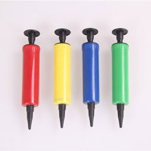 Mini Plastic Hand Held Ball Party Balloon Inflator Air Pump Portable Useful Balloon Decoration Tools