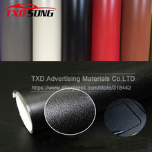 Promote 10CMx152CM Leather Pattern PVC Adhesive Vinyl Film Stickers For Auto Car Body Internal Decoration Vinyl Wrap