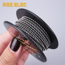Buy REE ELEC Fused Clapton Heating Wire Clapton Coil Resistance Wires Vape Pen RDA RDTA Atomizer Prebuilt Coil DIY Accessories for $2.99 in AliExpress store