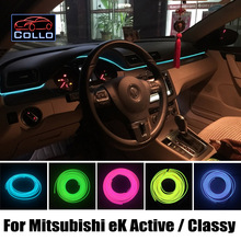 9 Meter A Set EL Wire For Mitsubishi eK Active / Classy / Custom / Space / Sport / Wagon / Car Interior Romantic Atmosphere Lamp