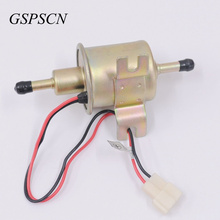 GSPSCN Auto Part Low Pressure 12V Universal Car Gas Universal Diesel Petrol Gasoline Electric Fuel Pump HEP-02A free shipping(China)