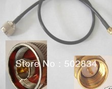 10m RG 58 RG58 SMA male to N male M/M Extension Coax RF Jumper Cable External Antenna(China)