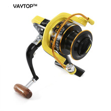 10BB Spinning Fishing Reel Professional Metal Fishing Reel With Exchangeable Handle For Casting Line HD 1000 - 7000