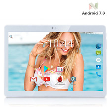 10 inch Android Tablet PC Octa Core 4G RAM 64GB ROM Dual SIM Cards 5.0M Camera 1280*800 IPS Android 7.0 Tablets 10+ Gifts(China)