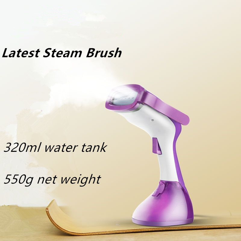 1200W 320ML Household Steam Iron portable steam brush handheld garment steamer for clothes braises face device beauty instrument<br>