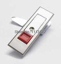 Red Push button Cabinet cam lock Silver Push Button Panel Lock MS603 Push to open Electric Cabinet Push Lock MS720 1 PC