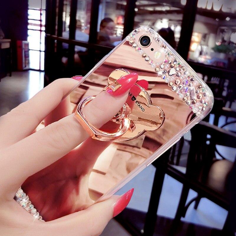 Diamond Glitter Mirror Case (6)