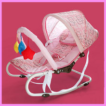 Multifunctional Newborn Baby Cradle Bouncer Swing Chair Portable Baby Rocking Crib Chair Nursery Infant Seat Bouncer Rocker(China)