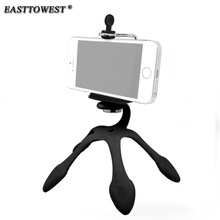 EASTTOWEST Mini Tripods for Gopro Hero Action Camera Flexible Support Stand for ipad Cell Phone(China)