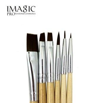 6 pcs IMAGIC brosse Corps peinture peinture brosse peinture visage peinture brush set make up brush outils