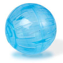 Lowest Price Pet Products Mini 4 inch 10cm Plastic Rodent Mice Hamster Exercise Ball Rat Play Toy Blue Color(China)