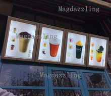 5PCS Ultra Slim A3 Snap Frame LED Menu Boards Restaurant LED Illuminated Menu Light Box