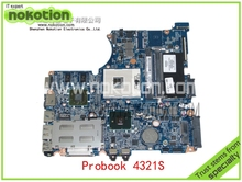 NOKOTION 599518-001 Laptop motherboard For HP Compaq probook 4321S 4420S 4421S Mobility Radeon HD 5430 HM57 DDR3 Mainboard(China)