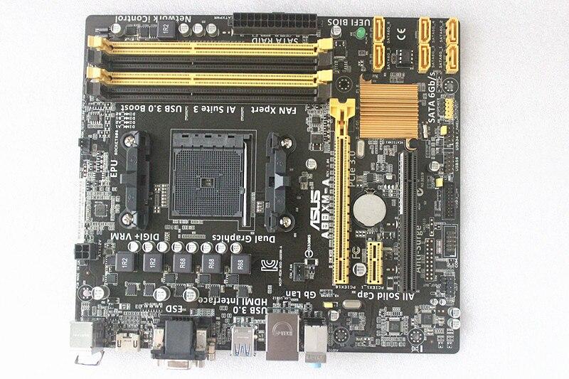 original Desktop motherboard A88XM-A DDR3 FM2/FM2+ RAM 64G mainboard<br><br>Aliexpress