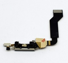 Usb Charger Connector Port Plug Flex Cable Repair For Iphone 4S Power Flex Charging Port Parts Dock Port Replacement(China)