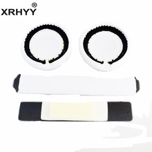 XRHYY White Headphones Replacement Headband Ear Pad Earpads Cushion Set For Beats by Dr. Dre Pro Detox Headphones(China)