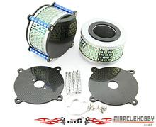 GTB carbon fiber advanced air filter for 1/5 SCALE Losi 5ive-T