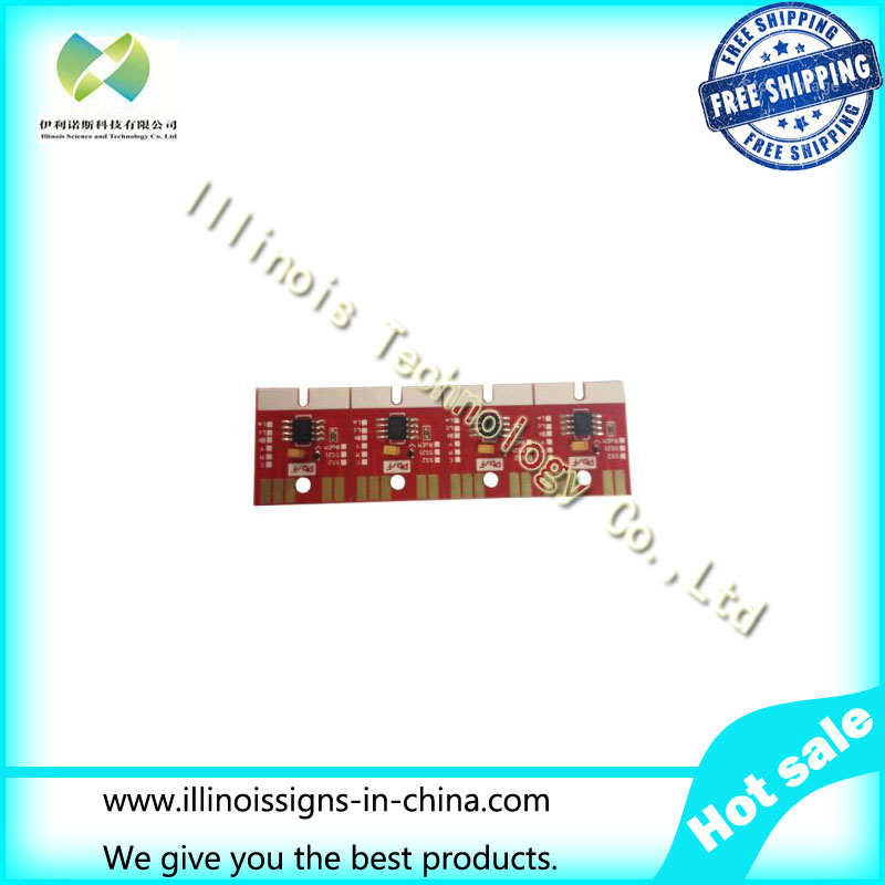 Chip Permanent for Mimaki JV300 / JV500 SB53 Cartridge 4 Colors CMYK printer parts<br><br>Aliexpress