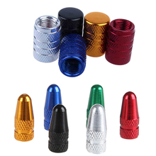 4Pcs Aluminum Alloy Car Bike Tube Tyre Bicycle Motocycle Truck Tire Wheel AV FV American French Schrader Presta air valve Cap