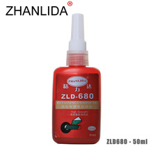 ZHANLIDA 680 50ML Cylindrical Retainer Locking Adhesive Fixed Gear Pulley Casing Anaerobic Adhesive Strength Repair Glue