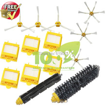 Hepa Filter,Side Brush,Bristle and Flexible Beater Brush for iRobot Roomba 700 Series 770 780 790(China)