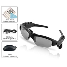Sport SunGlasses MP3 Player Headphone 2GB Memory lens Sun glass UV U.S. movement mp3 + Case