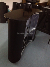 Demo Pop Up Promotion Display Counter Table FREE Print & Ship(China)