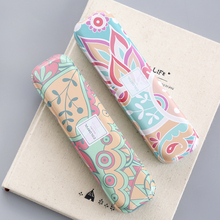Cute Kawaii Tin Pencil Case Lovely Cartoon Iron Metal Pen Box Storage Case Comic Printed Case For Gift Student School Stationery(China)