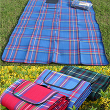150x180/200CM Waterproof Outdoor Foldable Beach Picnic Camping Multiplayer Moistureproof Mat Blanket Baby Climb Plaid T28 - Daily Show Store store