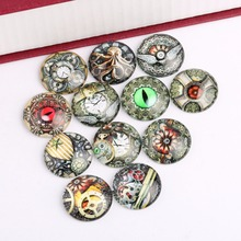 Buy onwear mixed steampunk photo glass cabochon 20mm 12mm 14mm 18mm 25mm round dome flatback accessories jewelry making for $3.86 in AliExpress store