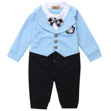 Baby Boy Clothing Sets Fashion Clothing Formal Gentleman Shirt + Pants 2 Pics Formal Kid Infant Baby Boy Summer Clothes