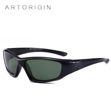 ARTORIGIN Sports Kids Sunglasses Polarized Safety Flexible Sunglasses Kids Soft Rubber Boy Girl Goggles Outdoors Eyewear