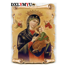 5D Diamond Painting Cross Stitch Music Angel Pattern 3D DIY Diamond Embroidery Rhine Mosaic Handcrafts Home Decor(China)