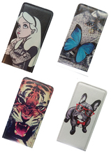 Yooyour Cartoon Printed Flip PU Leather Case Cover housing shell For Gigabyte GSmart Arty A3 Elite Guru G1
