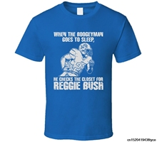 Jzecco Reggie Bush City Footballer Runer Back Boogeyman T Shirt(China)