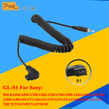 Wireless Remote Control Shutter Release Cable PIXEL CL-S1 For Sony A900 A850 A700 A560 A550 TC-252 TW-282 RW-221 T8 T3 TW-283(China)