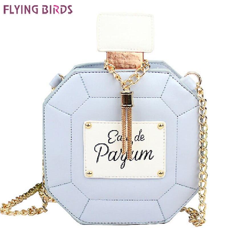 FLYING BIRDS! 2016 women bag chain bags perfume bottle women messenger bags handbag party purse evening bag  pouch LS4386fb<br><br>Aliexpress
