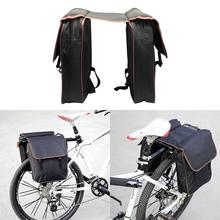 Buy MTB Bicycle Carrier Bag Rear Rack Bike Trunk Bag Luggage Pannier Back Seat Double Side Cycling Retro Bycicle Bag for $15.86 in AliExpress store