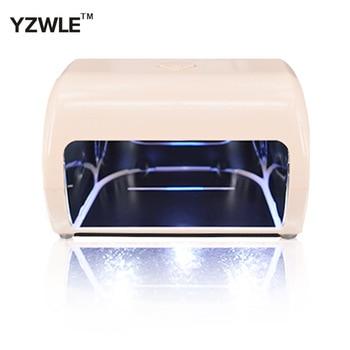 YZWLE New Original Nail Dryer Machine 9W Light  30S 60S 90S Drying Profession LED UV Lamp For UV Gel LED Gel Nail Art Tools