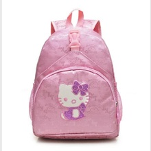 Fashion Small Pink Bag Girls Gift Cute Hellokitty Backpack for Women Girl(China)
