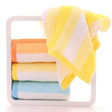 1Pc 74*34cm Colorful Rainbow Absorbent Microfiber Soft Cotton Solid Bath Beach Towels Drying Washcloth Shower for Women Girls