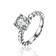 CZ engagement rings for women,  stainless steel jewelry Rings antique vintage custom rings