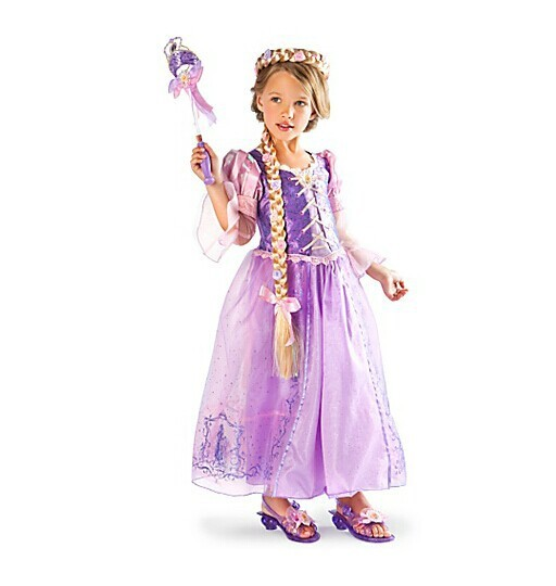 Fantasia Vestidos,2014 Children Kids Cosplay Dresses Rapunzel Costume Princess Wear Perform Clothes HOT Sale free shipping<br><br>Aliexpress