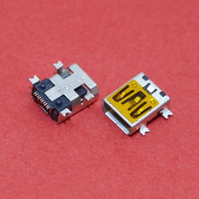 ChengHaoRan 1 Piece 10pin Communly Used Mini USB Connector Socket Jack for Mobile Phone Tablet PC,MI-020