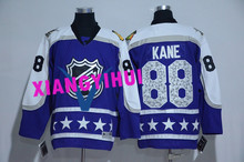 Free shipping 2017 High Quality New Style Alles hot starly Ice Hockey Jerseys KANE #88