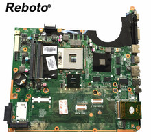 Reboto For HP DV7 DV7-3000 Series Laptop Motherboard DA0UP6MB6E0 575477-001 PGA 989 HM55 DDR3 GT 230M/1GB 100% Tested Fast Ship