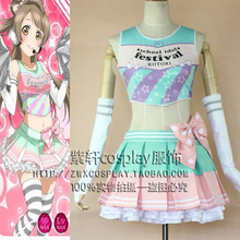 Japanese Anime Love Live Minami Kotori Cosplay Costume lovelive Lolita Cheerleading Uniforms